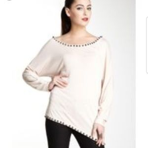 Mackage Collection Asymetrical Studded top XS